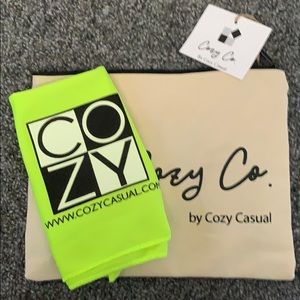 3/$20 Bundle Cozy Co Canvas Bag & Cooling Towel